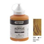 Acrylic Paint 500ml Mars Yellow 231