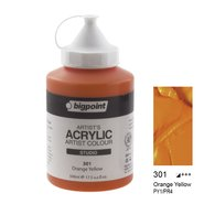 Acrylic Paint 500ml 301 Orange Yellow