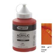 Acrylic Paint 500ml 304 Orange