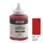 Acrylic Paint 500ml 324 Vermilion