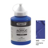 Acrylic Paint 500ml 443 Ultra Marine