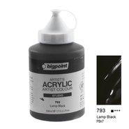 Acrylic Paint 500ml 793 Lamp Black