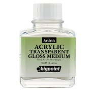 Acrylic Transparent Gloss Medium 75ml