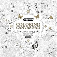 Coloring Canvas Pad 25x25Cm 20 Sheets