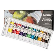 Gouache Colour Set 12ml Tube x12 Cols
