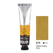 Oil Colour 45ml Yellow Ochre 676
