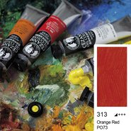Extra Fine Oil Colour 45ml Orange Red 313