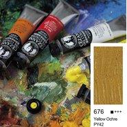 Extra Fine Oil Colour 45ml Yellow Ochre 676