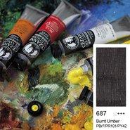 Extra Fine Oil Colour 45ml Burnt Umber 687
