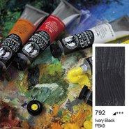 Extra Fine Oil Colour 45ml Ivory Black 792