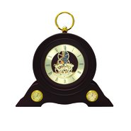 Wooden Desk Decor Clock 12020