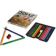 Doms Jumbo 12 Colour Pencils