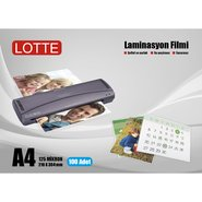 Lotte Laminating Film 125 Micron A4