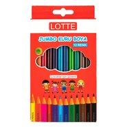 Lotte Jumbo Colour Pencils 12 Colours