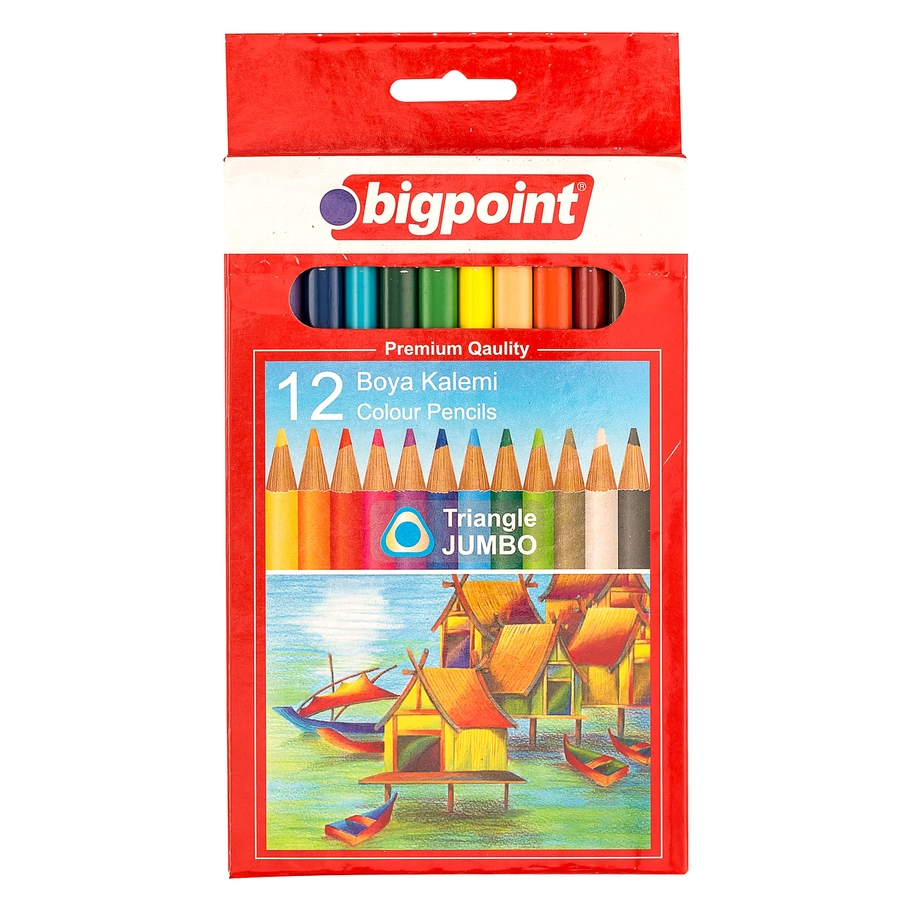 Jumbo Colour Pencils